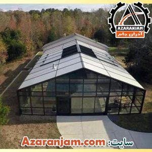 مدل سقف استخر و حیاط