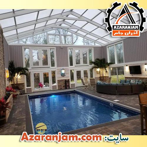 مدل سقف استخر