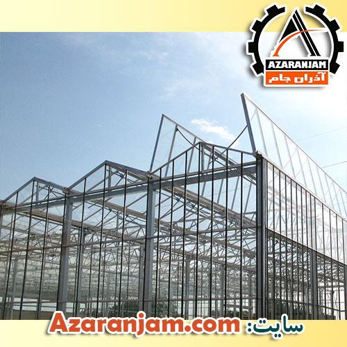 نمونه سقف های بازشو گلخانه
